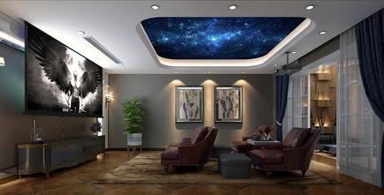 豪华型140平米别墅美式风格影音室效果图