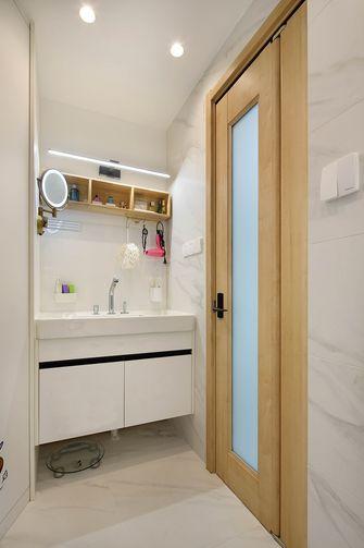 豪华型50平米公寓现代简约风格卫生间图片
