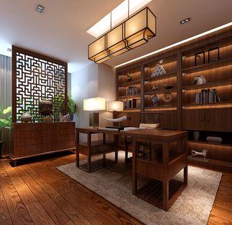 120平米四室两厅中式风格书房装修图片大全