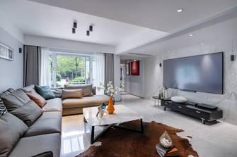 豪华型140平米中式风格客厅效果图