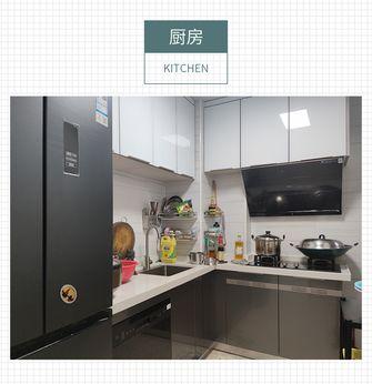富裕型50平米三室两厅中式风格厨房装修效果图
