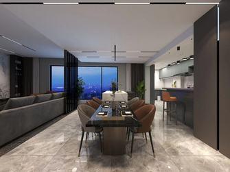 140平米四现代简约风格餐厅图片大全