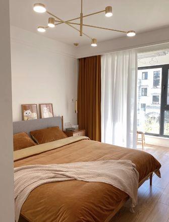 10-15万80平米三室两厅北欧风格卧室装修效果图