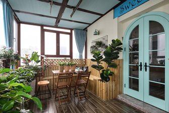 富裕型100平米三室一厅北欧风格阳台装修图片大全