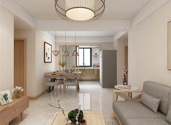 100平米三室一厅日式风格客厅装修案例