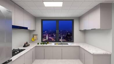 豪华型130平米三室两厅现代简约风格厨房设计图