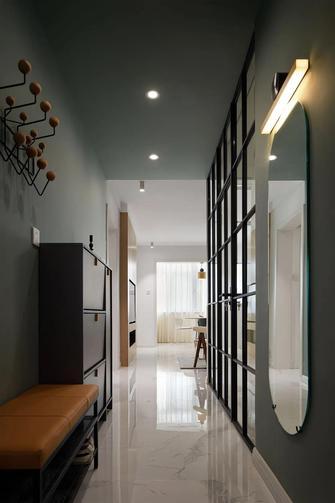富裕型90平米三室一厅现代简约风格玄关图片大全