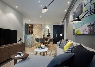 富裕型60平米公寓北欧风格客厅装修案例