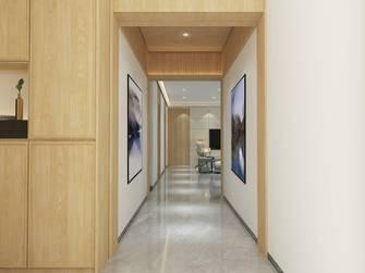 豪华型140平米四室两厅日式风格玄关图片