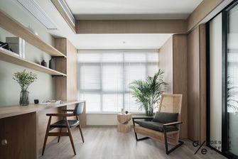 富裕型120平米四室两厅混搭风格书房图片大全