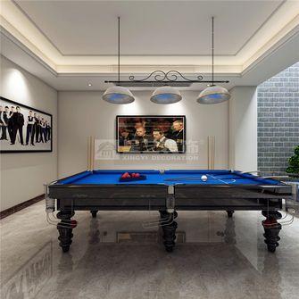 豪华型140平米别墅欧式风格影音室设计图