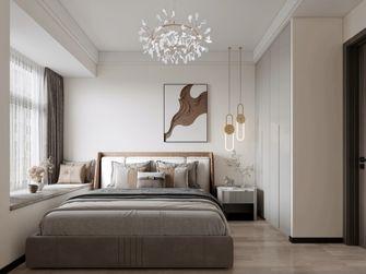 80平米三室两厅现代简约风格卧室装修效果图