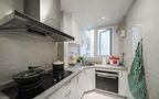 5-10万100平米三室两厅美式风格厨房图片