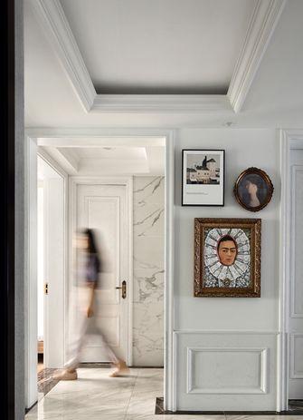 富裕型80平米三室一厅法式风格玄关图