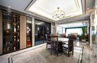 富裕型140平米三轻奢风格餐厅图片大全