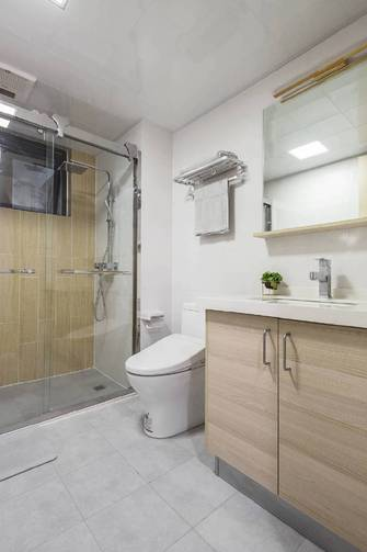豪华型三室两厅混搭风格卫生间效果图