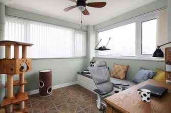5-10万100平米一室三厅混搭风格阳光房欣赏图