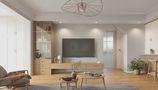 10-15万70平米一室一厅北欧风格客厅图