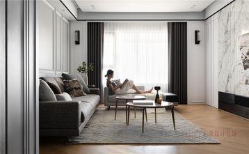 豪华型140平米四现代简约风格客厅装修效果图