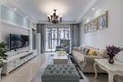 富裕型80平米美式风格客厅图片大全