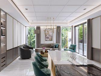 豪华型140平米四室两厅轻奢风格餐厅装修图片大全
