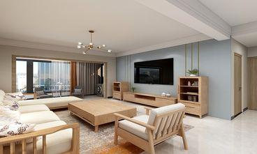 140平米四室一厅北欧风格客厅欣赏图