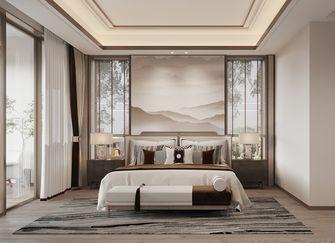 20万以上140平米四室一厅中式风格卧室欣赏图