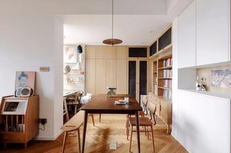 50平米一室一厅现代简约风格餐厅设计图