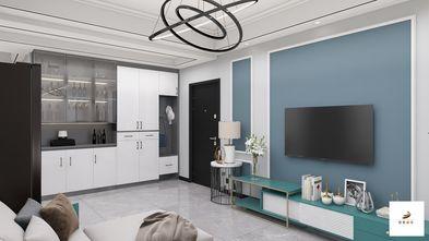 经济型80平米三室两厅现代简约风格客厅装修案例