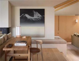 富裕型140平米别墅现代简约风格书房装修效果图