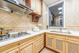 100平米三美式风格厨房装修图片大全