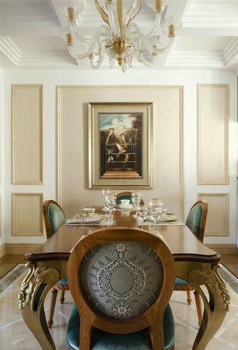 富裕型欧式风格餐厅图