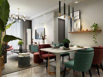 3-5万90平米三室两厅轻奢风格餐厅装修图片大全