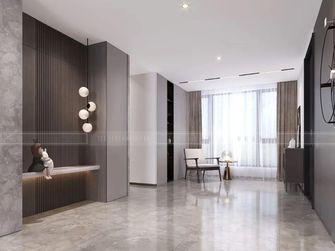 20万以上140平米复式现代简约风格走廊装修图片大全