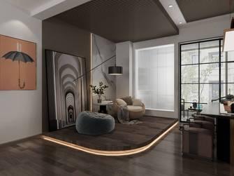 20万以上140平米复式现代简约风格书房设计图