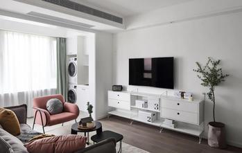 3-5万80平米北欧风格客厅装修案例