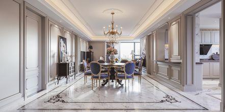 120平米三法式风格餐厅装修效果图