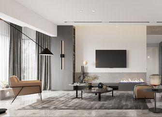 100平米三室两厅法式风格客厅图片大全
