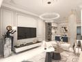 15-20万110平米三室两厅欧式风格客厅欣赏图