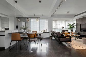 120平米三室一厅工业风风格餐厅图片