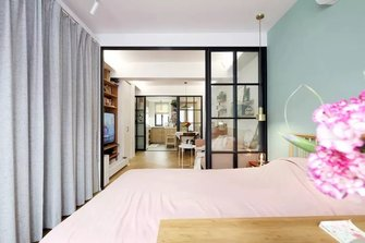 10-15万40平米小户型北欧风格卧室效果图