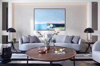 130平米三室一厅欧式风格客厅设计图