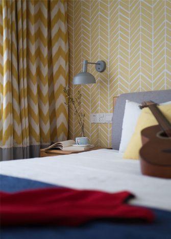 豪华型130平米四室两厅北欧风格卧室效果图