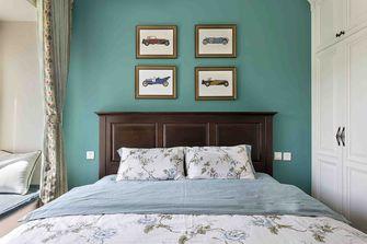 经济型80平米田园风格卧室效果图