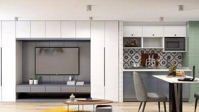 富裕型60平米复式北欧风格客厅装修效果图