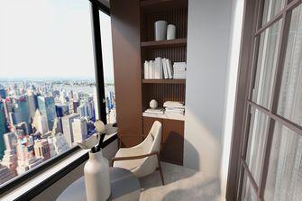 70平米轻奢风格阳台设计图