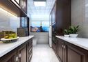 140平米四室两厅中式风格厨房装修图片大全