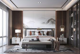 140平米四室一厅中式风格卧室装修效果图