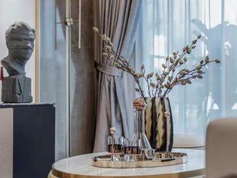 豪华型140平米三室三厅轻奢风格玄关图片大全