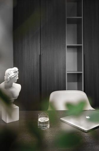 经济型140平米现代简约风格书房图片大全